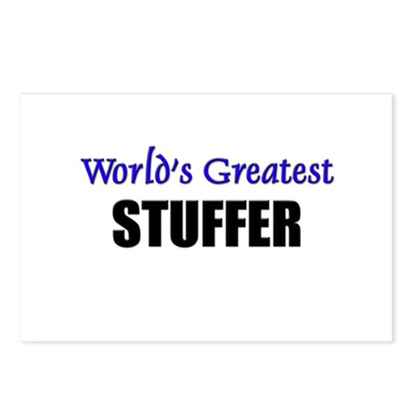 Worlds Greatest STUFFER Postcards (Package of 8)