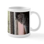 Curious black kitten 11 oz Ceramic Mug