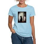 Curious black kitten Women's Classic T-Shirt