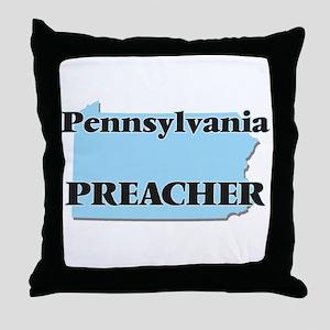 Pennsylvania Preacher Throw Pillow