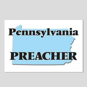 Pennsylvania Preacher Postcards (Package of 8)