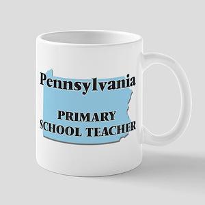 Pennsylvania Primary School Teacher Mugs