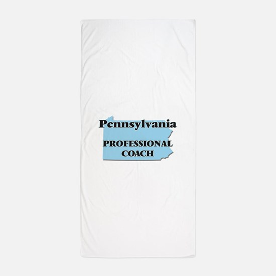 Pennsylvania Professional Coach Beach Towel