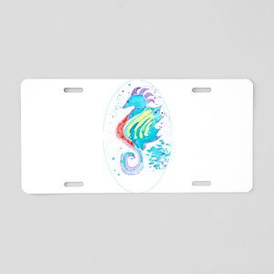 Seahorse cheval de mer Aluminum License Plate