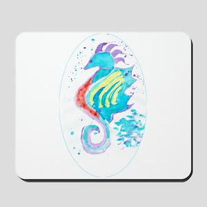 Seahorse cheval de mer Mousepad
