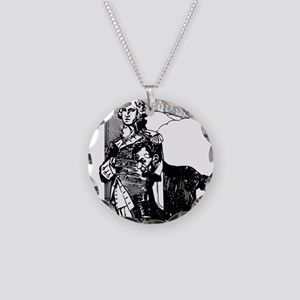 abraham lincoln george washi Necklace Circle Charm