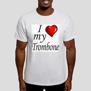 I Love My Trombone T-Shirt
