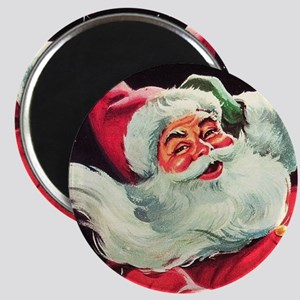 Santa Claus Rocket  Magnet