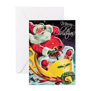 Vintage santa claus gifts cafepress m4hsunfo