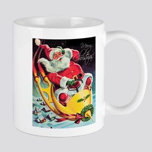 Santa Claus Rocket Mugs