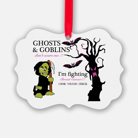 I'm Fighting Breast Cancer Ornament
