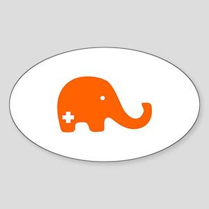 SFE Elephant - Sticker (Oval)