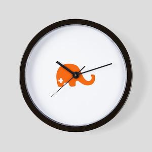 SFE Elephant - Wall Clock