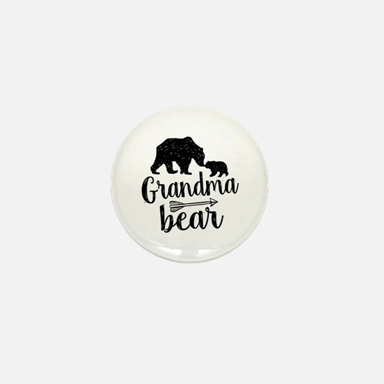 Grandma Bear Mini Button