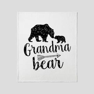 Grandma Bear Throw Blanket
