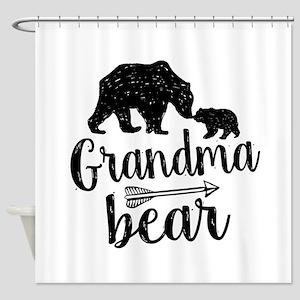 Grandma Bear Shower Curtain
