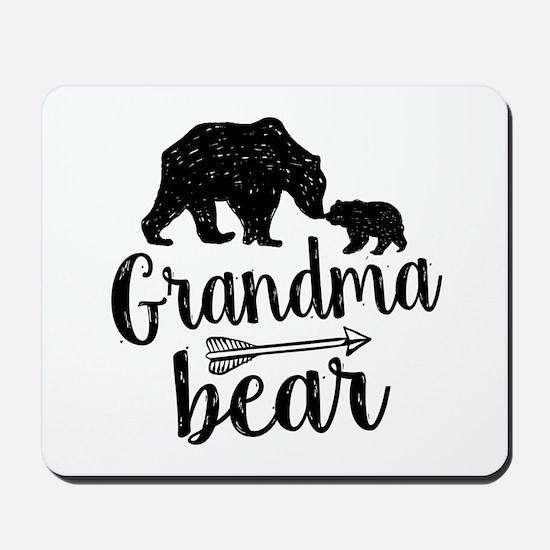 Grandma Bear Mousepad