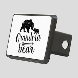 Grandma Bear Rectangular Hitch Cover