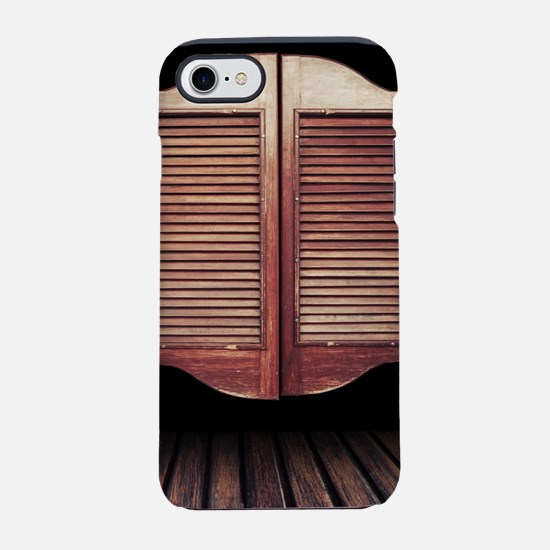 Wild West Saloon Door iPhone 8/7 Tough Case