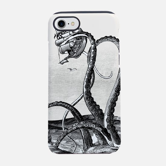 Kraken Attack iPhone 8/7 Tough Case