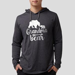 Grandma Bear Mens Hooded Shirt