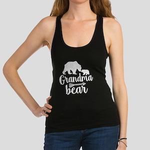 Grandma Bear Racerback Tank Top