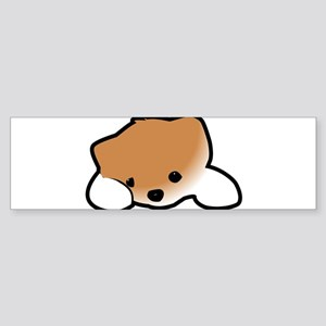 Kawaii Puppy Bumper Sticker