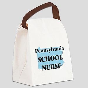 Pennsylvania School Nurse Canvas Lunch Bag