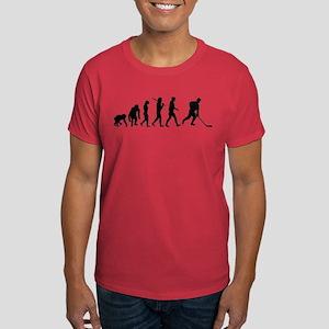 Evolution of Ice Hockey Dark T-Shirt