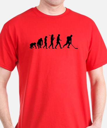 Evolution of Ice Hockey T-Shirt