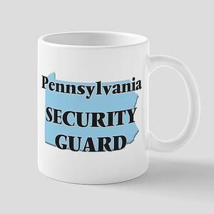 Pennsylvania Security Guard Mugs