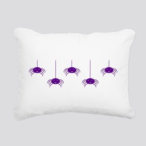 Hanging with Friends Pur Rectangular Canvas Pillow