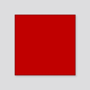 """JUST COLORS: RED Square Sticker 3"""" x 3"""""""