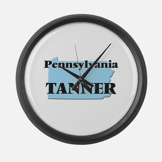 Pennsylvania Tanner Large Wall Clock