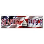 51 Capital March Bumper Sticker