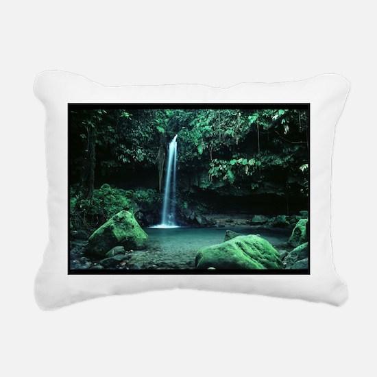 Cute Dominica Rectangular Canvas Pillow