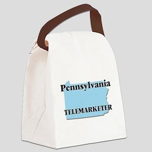 Pennsylvania Telemarketer Canvas Lunch Bag