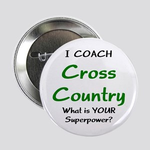 """cross country 2.25"""" Button"""