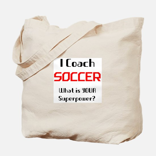 coach soccer Tote Bag