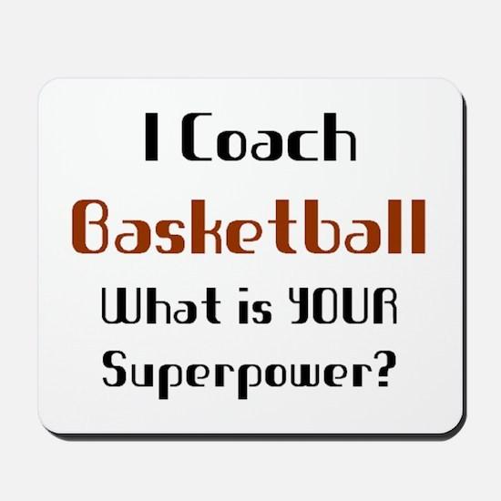 coach basketball Mousepad