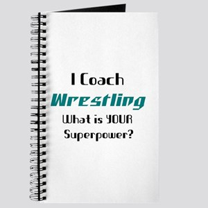 coach wrestling Journal