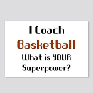 coach basketball Postcards (Package of 8)