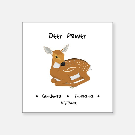 Deer Totem Power Gifts Sticker