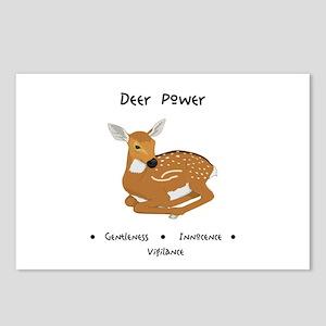 Deer Totem Power Gifts Postcards (Package of 8)