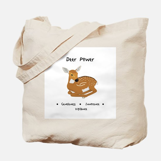 Deer Totem Power Gifts Tote Bag