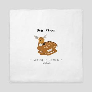 Deer Totem Power Gifts Queen Duvet