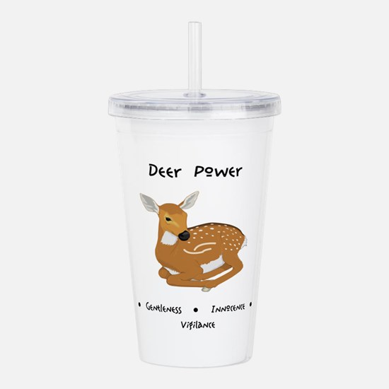 Deer Totem Power Gifts Acrylic Double-wall Tumbler