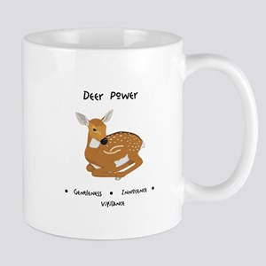 Deer Totem Power Gifts Mugs
