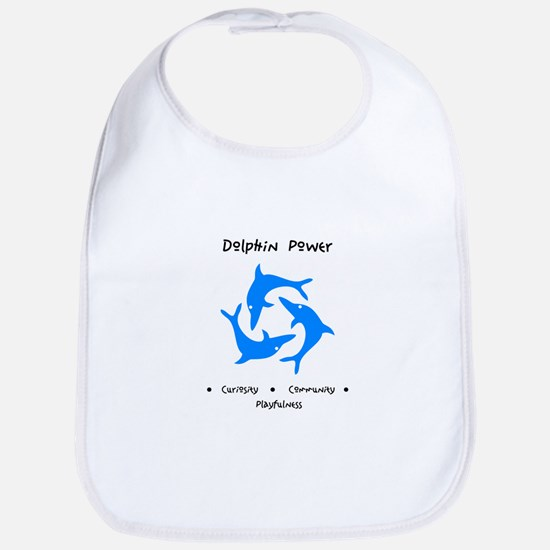 Dolphin Totem Power Gifts Bib