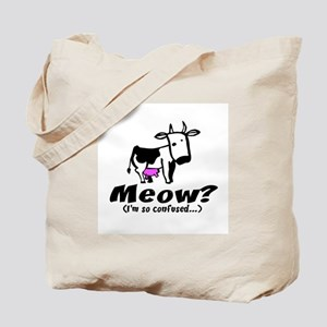 Meow? I'm so confused ~ When  Tote Bag